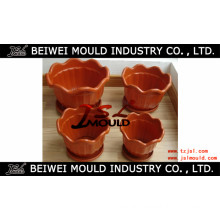 Customized Plastic Injection Flower Pot Mould