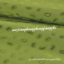 Polyester Viscose Jacquard Fabric for Jacket, Down Coat or Pants