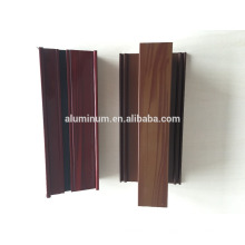 ALUMINIUM WOOD GRAIN POWDER COATING PROFILES