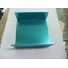 Aluminum Box with Blue Anodizing