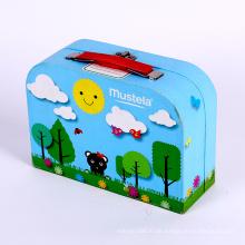 Bunter Druckpapierkoffer-Verpackungskasten für Kinder