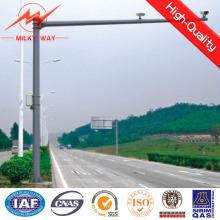 Stahlmaterial-Verkehrssignal-Pole für Fahrbahn-Sicherheit