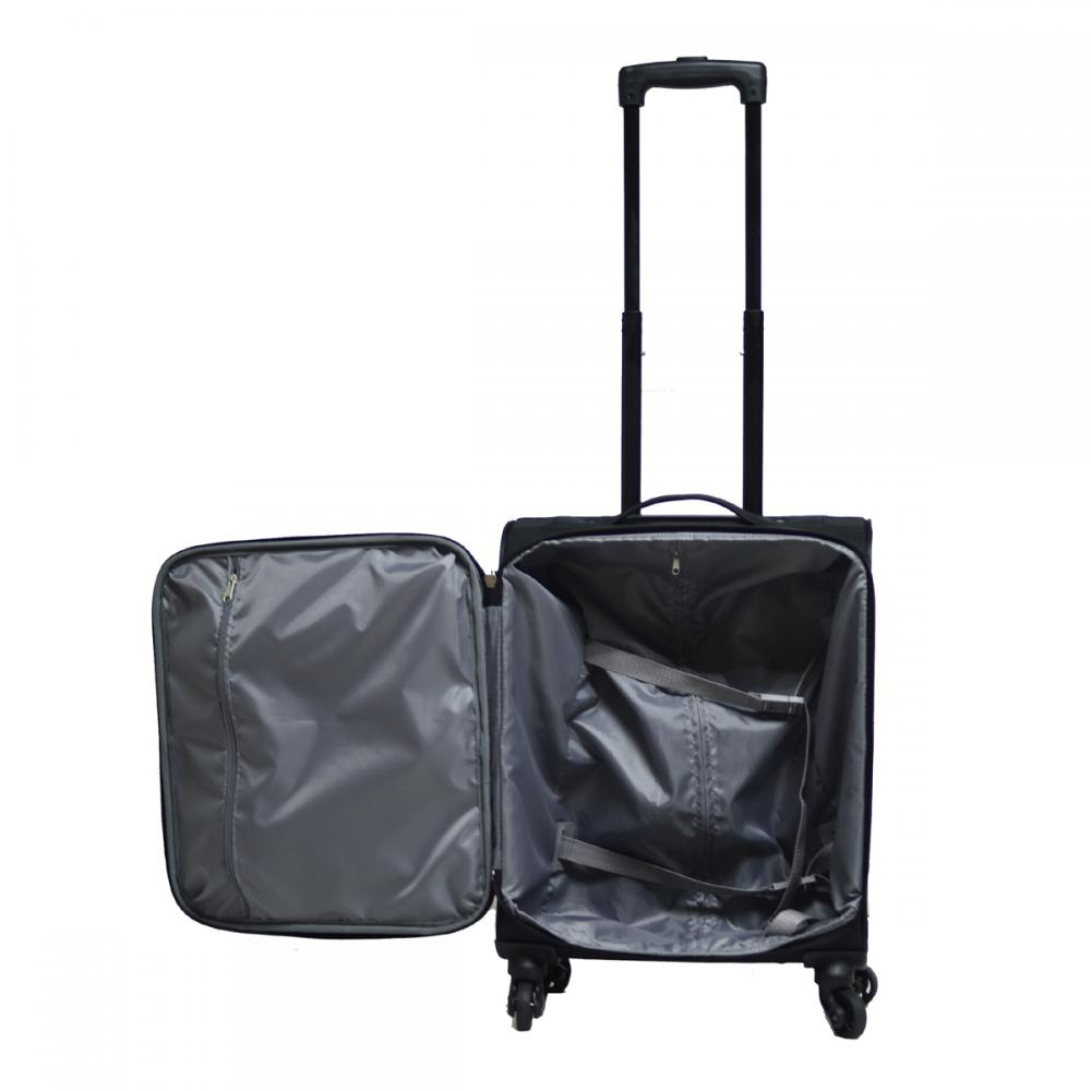 Upright Expandable EVA Trolley Luggage Set
