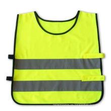Chaleco de alta visibilidad de seguridad para niños niños