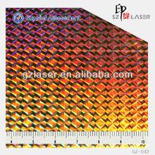 GZ-042, Wabenplatte Hologramm General Master für chinesischen xxx Film bopp holographischen Film Hersteller