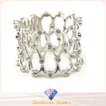 Anillo más nuevo de la joyería de la plata esterlina de la manera 925 de la venta al por mayor 2015 (R10332)