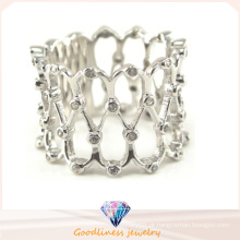 Atacado 2015 moda mais recente 925 Sterling Silver Jewelry Ring (R10332)