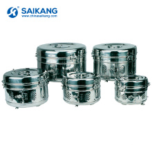 Tanque de armazenamento de aço inoxidável médico do hospital SKN001