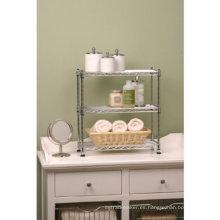 DIY Cuarto de baño de esquina Metal Rack de almacenamiento (CJ452560C2E)