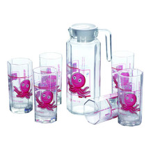 Ensemble de verres en verre de haute qualité Verrerie Ustensiles de cuisine Kb-Jh06137