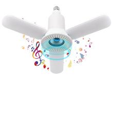 36w E27 360 Angel Energy Saving 2020 Upgraded LED Light Bulb Speaker Music Light Cool White & RGB Changing Lamp Stereo Audio
