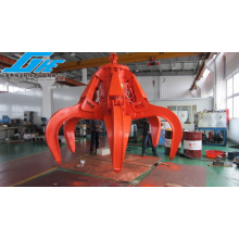 Single Rope Motor/Electro Hydraulic Orange Peel Grab for Waste Steel&Garbage (GHE-EHOPG-2300)