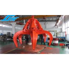 Single Rope Motor/Electro Hydraulic Orange Peel Grab for Waste Steel&Garbage (GHE-EHOPG-2300)