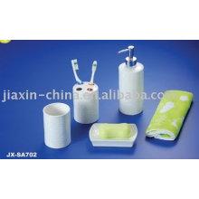 Hotel porcelana 4pcs banheiro conjunto JX-SA702
