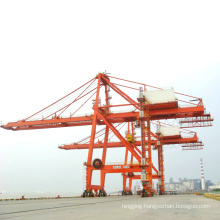 shipping container straddle carrier crane