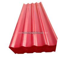 Matériau de feuille de toiture MgO résistant à la chaleur sans amiante