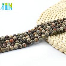 L-0129 Alle Größen-Ozean-Jaspis-natürlicher Edelstein-Korn-Schmuck, der lose Steinkorne für DIY herstellt