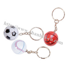 Plastic Toys of Foaming Ball Key Chain