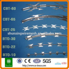 High quality cheap razor blade barbed wire