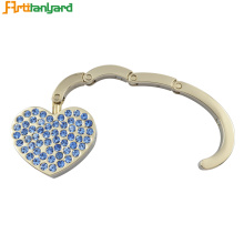 Heart Bag Hanger untuk Desk Purse Hook