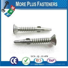 Made in Taiwan Carbon Steel Special Wing Anchor Custom Made Screws
