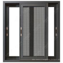 Meilleures ventes fenêtres et portes en aluminium de conception personnalisée de style classique