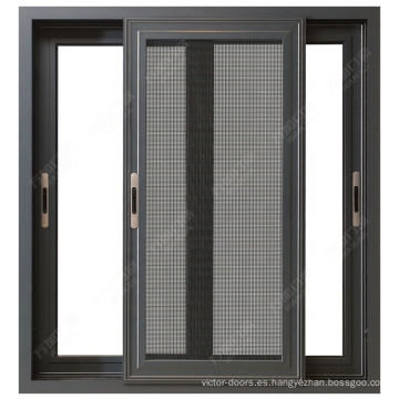 Más vendido Estilo clásico, diseño personalizado, ventanas y puertas de aluminio