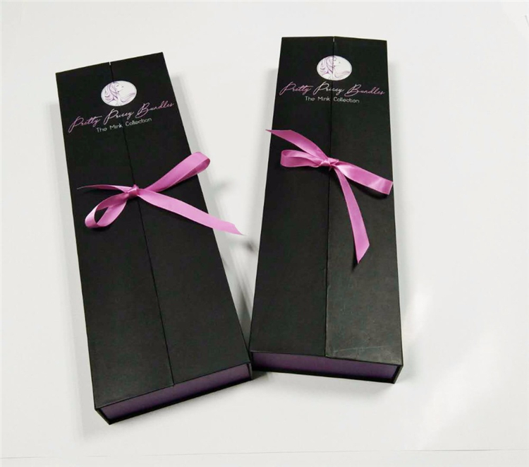 Oem Factory False Hair Extension Paper Box