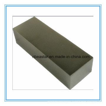 N45 Block Neodymium Magnet with Zinc Plating