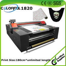Manufacturer Belt Conveyor Printing Machine for Roll and Piece Material
