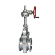 Gear operation  parallel slide gate valve