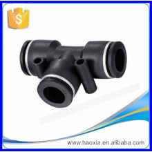 PUT Series Pneumatic quick Joint fitting black