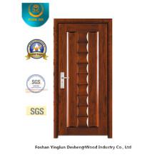 Puerta de seguridad de estilo clásico para el interior (B-3016)