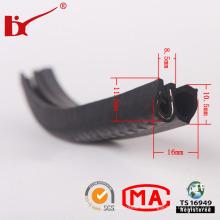 Benutzerdefinierte Hochtemperatur EPDM Extrusion Auto Rubber Parts Streifen
