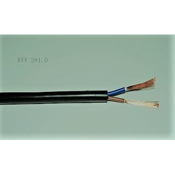 Copper core PVC sheathed cable