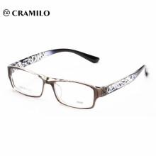 schwarze Brille ohne Nasenauflage