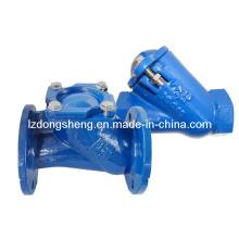 Ferro fundido / válvula de retenção de bola de ferro dúctil com revestimento epóxi