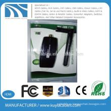 300Mbps 802.11nb / g USB Mini adaptador inalámbrico Wi-Fi Tarjeta LAN de red 5dbi