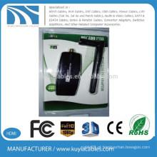 300Mbps 802.11nb / g USB Mini adaptador sem fio Wi-Fi Rede LAN Card 5dbi