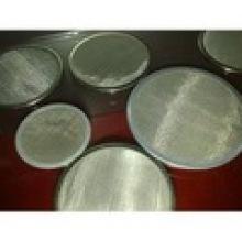 Bloco da tela de malha do metal para a fibra química com ponto soldado ou bordas de quadro
