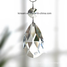 Clear Water-Drop Crystal Glass Chandelier Part