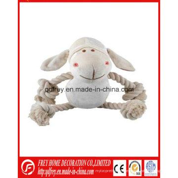 Cordón de peluche de venta caliente para juguete suave para mascotas