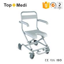 Topmedi Bathroom Shower Wheelchair U Shape Seat Folding Bath Bench