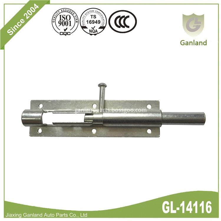 Sliding Lock Barrel Bolt GL-14116