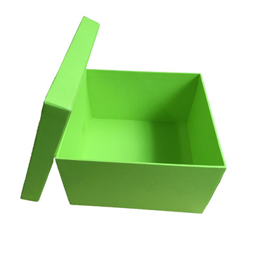 Cardboard Base and Lid Rigid Gift Box