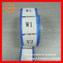 Mangas de identificação de cabos termo-retráteis de transferência térmica