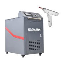Hand held welder equipment cnc laser soldering machine 1000w for alumin steel metal