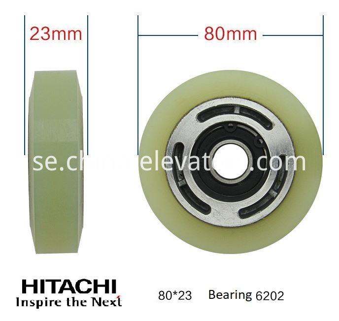 Hitachi Escalator Step Roller 80*23*6202