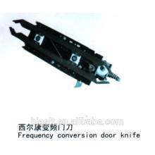 Faca de porta de freqüência de elevador para peças de elevador