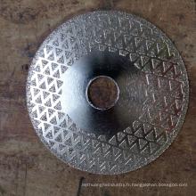 Pour les disques de coupe de broyeur de diamant en gros de granit pour la pierre